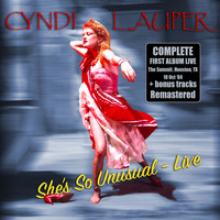 Cyndi Lauper - She's so Unusual - Live & Remastered + bonus tracks