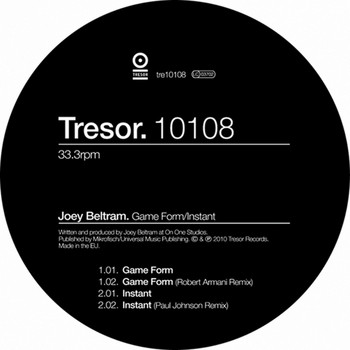 Joey Beltram - Gameform / Instant