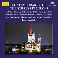 Czech Chamber Philharmonic Orchestra Pardubice / John Georgiadis - Contemporaries of the Strauss Family, Vol. 3