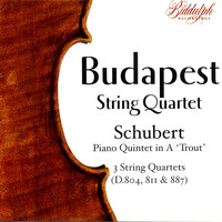 The Budapest String Quartet - The Budapest String Quartet Plays Schubert