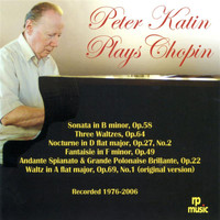 Peter Katin - Chopin: Piano Works (Live)
