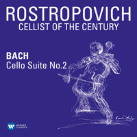 Mstislav Rostropovich - Bach: Cello Suite No. 2 in D Minor, BWV 1008
