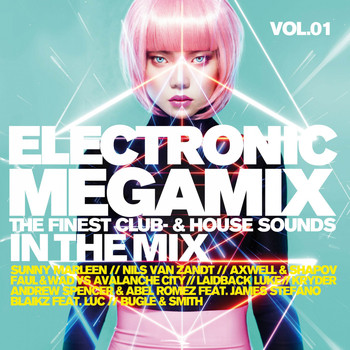 Various Artists - Electronic Megamix, Vol. 1 - Finest Club & House Sounds in the Mix