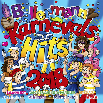 Various Artists - Ballermann Karnevals Hits 2018 (Explicit)
