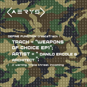 Architect & Danilo Ercole - Weapons Of Choice EP1