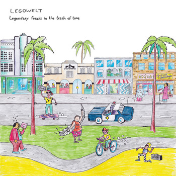 Legowelt - Legendary Freaks in the Trash of Time