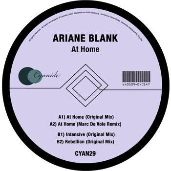 Ariane Blank - At Home