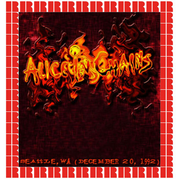 Alice In Chains - Seattle Center Arena, Seattle, Wa, December 20, 1992