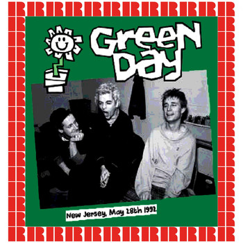 Green Day - East Orange, New Jersey, May 28th, 1992