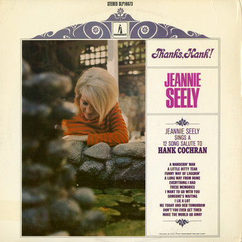 Jeannie Seely - Thanks, Hank!