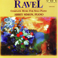 Abbey Simon - Ravel: Complete Music for Solo Piano
