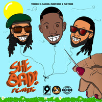 Turner, Machel Montano, Flavour - She Bad (Remix)