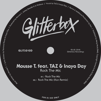Mousse T. - Rock The Mic (feat. TAZ & Inaya Day)