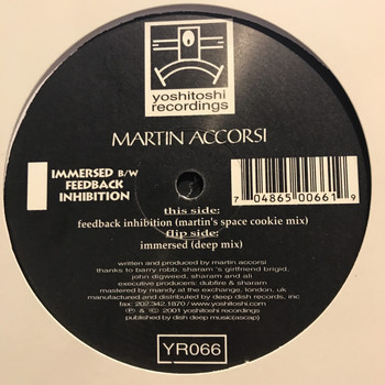 Martin Accorsi - Feedback Inhibition