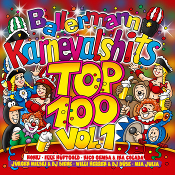 Various Artists - Ballermann Karnevalshits Top 100, Vol. 1 (Explicit)