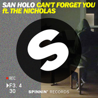 San Holo - Can't Forget You (feat. The Nicholas)