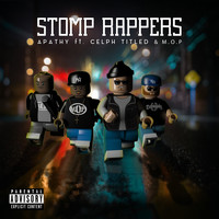 Apathy - Stomp Rappers - Maxi-Single (Explicit)