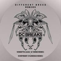 DC Breaks - Vendetta (A.M.C & Turno Remix) / Everybody (Flowidus Remix)