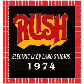 Rush - Electric Lady Land Studios, New York, December 5th, 1974 (Hd Remastered Edition)
