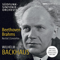 Wilhelm Backhaus - Beethoven & Brahms: Works for Piano (Live)