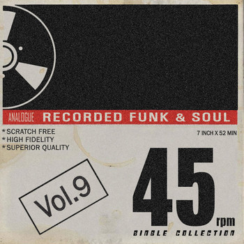 Various Artists - Tramp 45 RPM Single Collection, Vol. 9