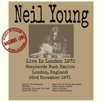 Neil Young - Live In London 1971