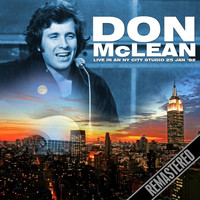 Don McLean -  Live in an NY City Studio 25 Jan '82