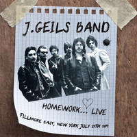 J. Geils Band - Homework... Live (Fillmore East, New York July 27th 1971)
