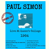 Paul Simon - Live at Queens College 1964