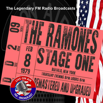 The Ramones - Legendary FM Broadcasts - Stage One, Buffalo NY 8th February 1978