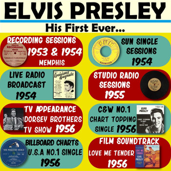 Elvis Presley - His First Ever...