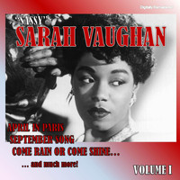 "Sarah Vaughan - ""Sassy"" Sarah Vaughan, Vol. 1 (Digitally Remastered)"