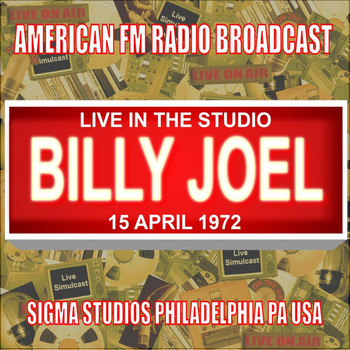 Billy Joel - Live In The Studio - Sigma Studios 1972