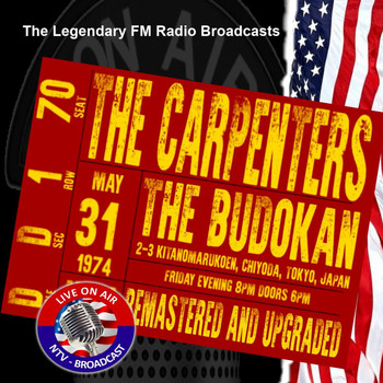 The Carpenters - Legendary FM Broadcasts - Budokan, Tokyo Japan 31st May 1974