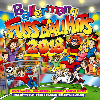 Various Artists - Ballermann Fußball Hits 2018