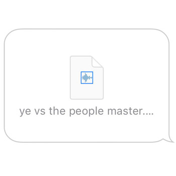 Kanye West - Ye vs. the People (starring TI as the People) (Explicit)