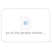 Kanye West - Ye vs. the People (starring TI as the People)