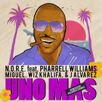 N.O.R.E. - Uno Más Remix Feat. Pharrell Williams, Miguel, Wiz Khalifa, J Alvarez (Explicit)