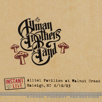 Allman Brothers Band - Raleigh, Nc 8-10-03