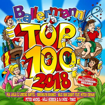 Various Artists - Ballermann Top 100 - 2018 (Explicit)