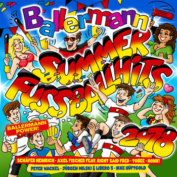Various Artists - Ballermann Summer - Fussball Hits 2018