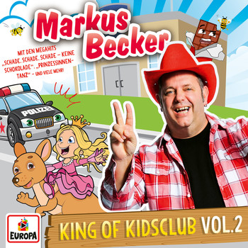 Markus Becker - King of Kidsclub, Vol. 2