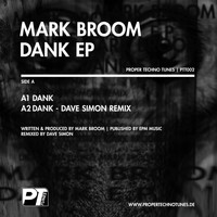 Mark Broom - Dank EP (Digital Version)