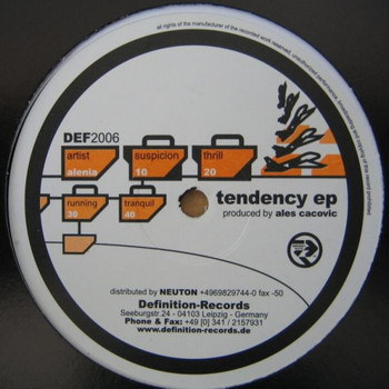 Alenia - Tendency EP