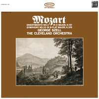 George Szell - Mozart: Symphonies No. 33, K. 319 & Divertimento No. 2 in D Major, K. 131