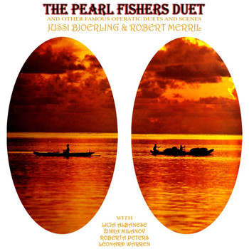 Jussi Björling and Robert Merrill - The Pearl Fisher's Duet
