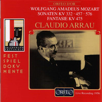 Claudio Arrau - Mozart: Piano Sonatas Nos. 12, 14 & 18 and Fantasia in C Minor (Live)