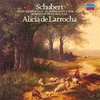 Alicia de Larrocha - Schubert: Piano Sonata No. 21; Moment Musical No. 6