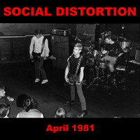 Social Distortion - 1945 and Other Recordings from April 1981