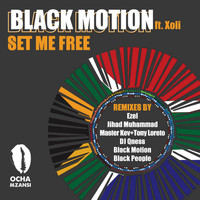 Black Motion - Set Me Free - Remixes